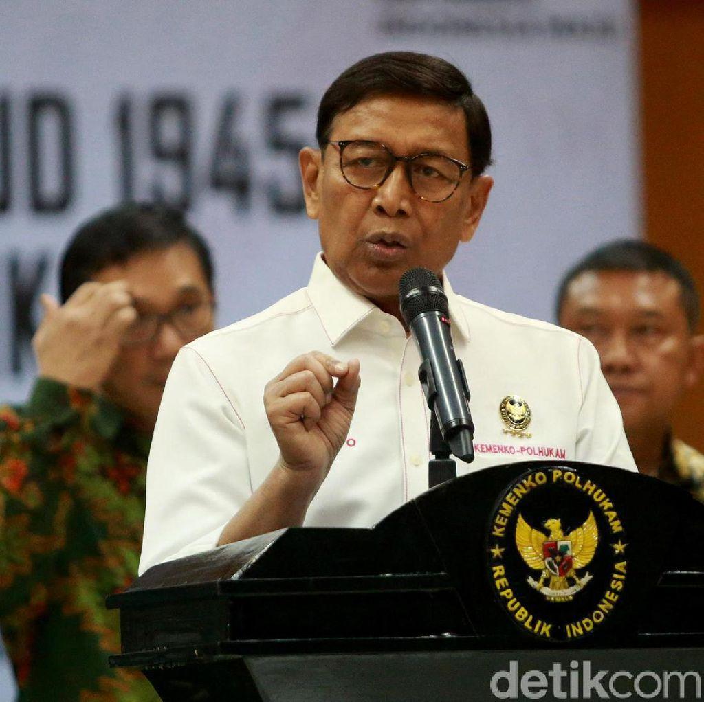 Wiranto akan Rapat Bersama Mendagri Bahas Situasi Terkini Papua