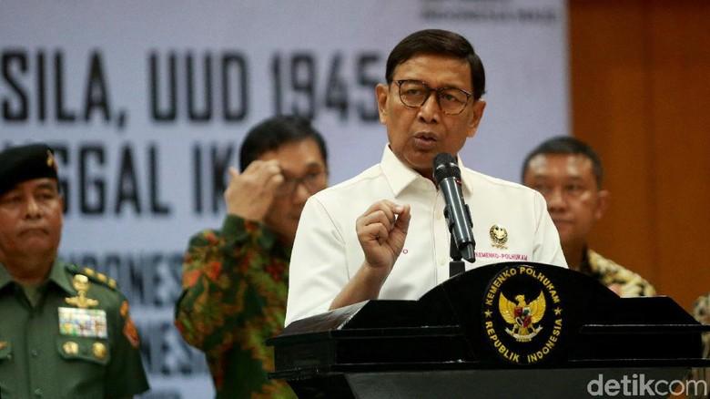 PD Ingin Perkuat Pemerintahan, Wiranto: Tergantung Presiden Jokowi