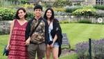 Keakraban Keluarga Okie Agustina & Gunawan