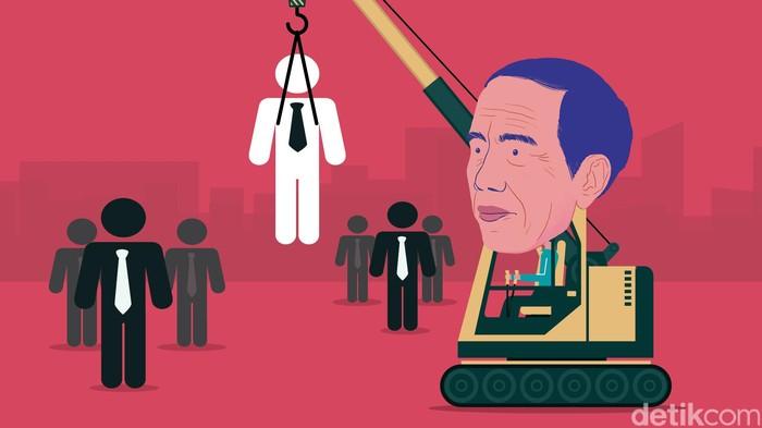 Ilustrasi Bantu Jokowi Cari Menteri