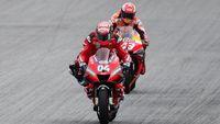 Duel dengan Marquez di Tikungan Terakhir, Dovizioso: Nekat Kadang Perlu