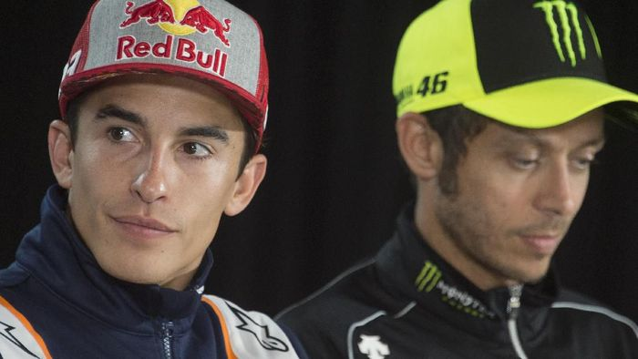 SPIELBERG, AUSTRIA - AUGUST 08: Marc Marquez of Spain and Repsol Honda Team looks on during the press conference pre-event during the MotoGp of Austria - Previews at Red Bull Ring on August 08, 2019 in Spielberg, Austria. (Photo by Mirco Lazzari gp/Getty Images)