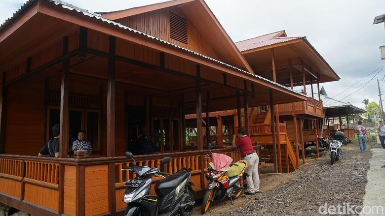 Rumah panggung Manado di Tomohon(Syanti Mustika/detikcom)