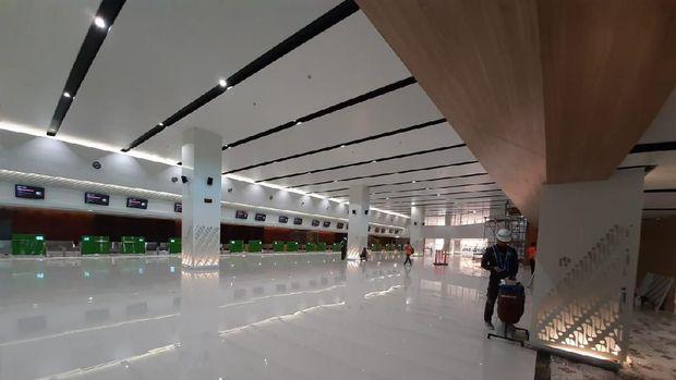 Pembangunan terminal baru Bandara Adi Soemarmo