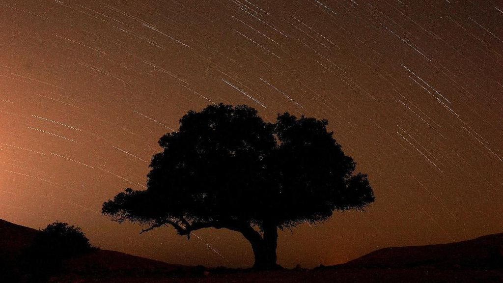 Gemerlap Langit Israel Berhiaskan Hujan Meteor Perseid