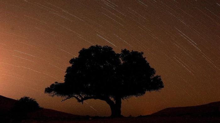 Tak hanya di Bosnia, hujan meteor perseid juga terjadi di Israel. Fenomena tersebut terjadi Selasa (13/8) dini hari waktu setempat.
