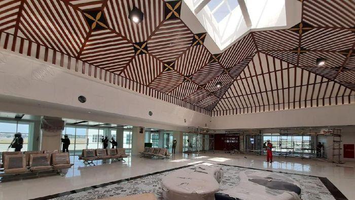 Terminal baru Bandara Adi Soemarmo/Foto: Ragil Ajiyanto/detikcom