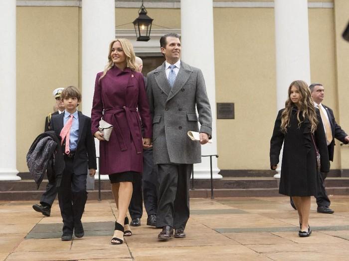 Donald Trump Jr. dan Vanessa Haydon saat masih menikah. (Foto: Getty Images)