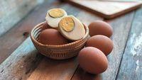 Ini Penyebab Lingkaran Kuning Telur Rebus Berwarna Kehijauan