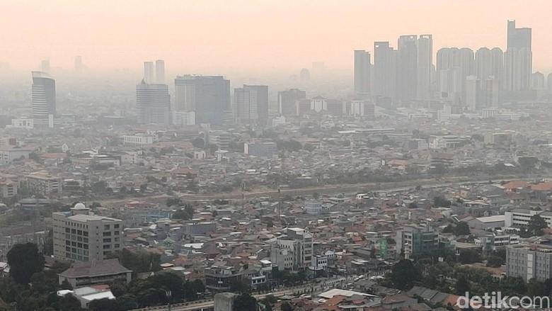 Polusi Jakarta Foto: Rachman Haryanto