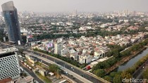 Data AirVisual Sabtu Pagi: Udara Jakarta Terburuk Ke-3 di Dunia