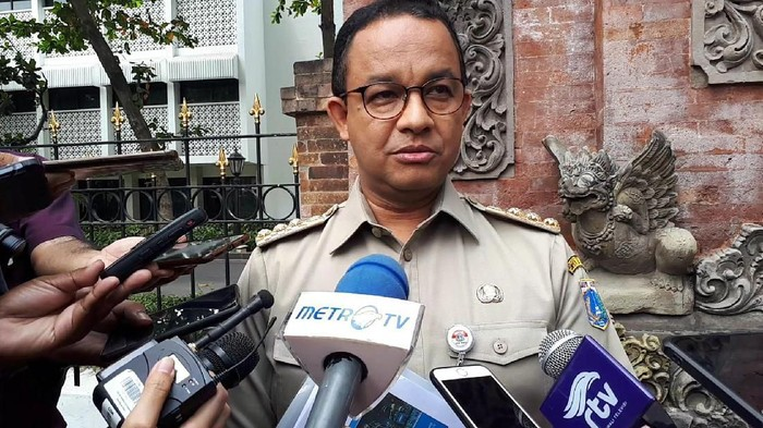 Gubernur DKI Jakarta Anies Baswedan (Andhika Prasetia/detikcom)