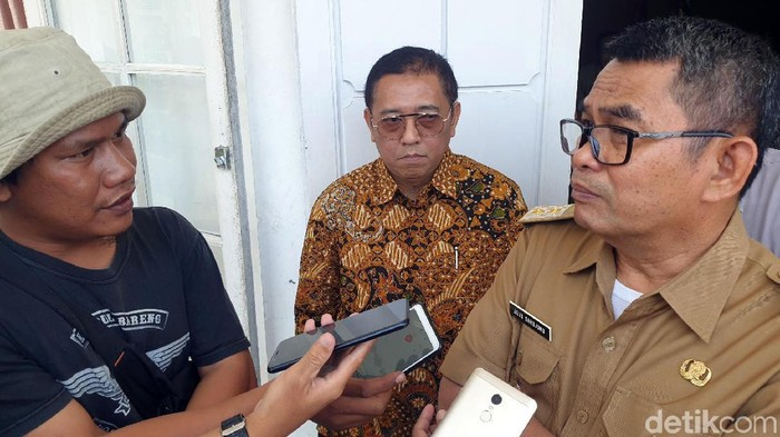 Wakil Bupati Sukabumi Adjo Sarjono (Syahdan Alamsyah/detikcom)