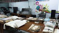 Aneka manuskrip di ruang restorasi ANRI (Masaul/detikcom)