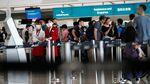 Suasana Bandara Hong Kong Usai Aksi Demo Anti Ekstradisi