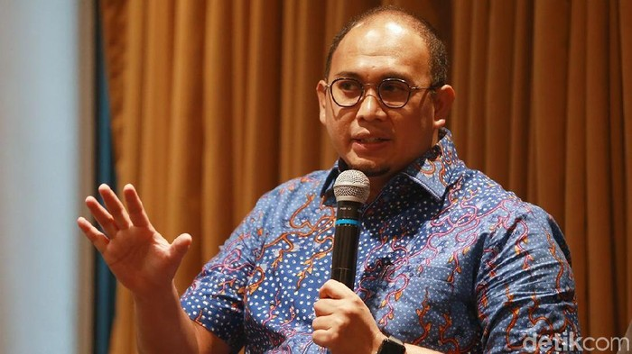 Ketua DPD Gerindra Sumatera Barat Andre Rosiade (Ari Saputra/detikcom)