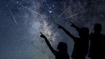 Malam Ini Puncak Terjadinya Hujan Meteor Leonid