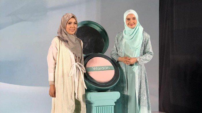 Wardah rilis rangkaian makeup terbaru. Foto: Vina OKtiani /Wolipop