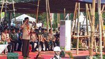Upacara Peringatan Hari Pramuka, Jokowi Dianugerahi Tunas Kencana