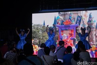 Pengunjung juga disuguhi beberapa atraksi dan pertunjukan dari pihak pengelola (Shinta/detikcom)