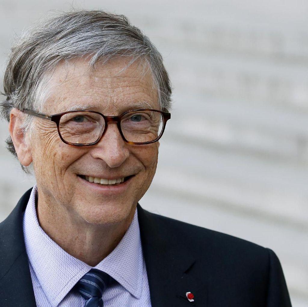 Ketimbang Makan, Bill Gates Pilih Gadoin Serbuk Jeruk