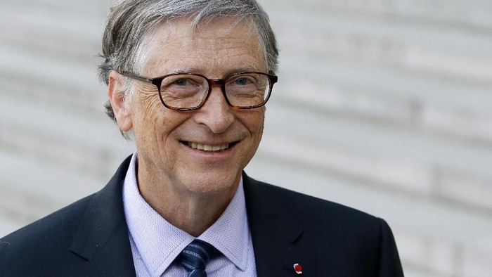 Bill Gates masak