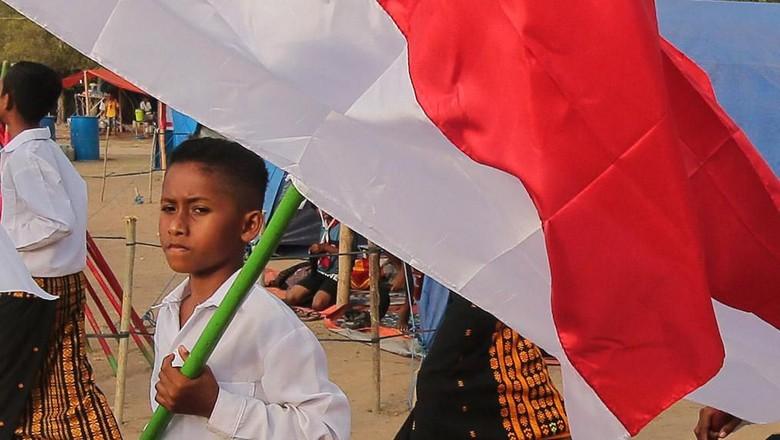 Potret Parade Kebangsaan Sambut HUT RI di NTT