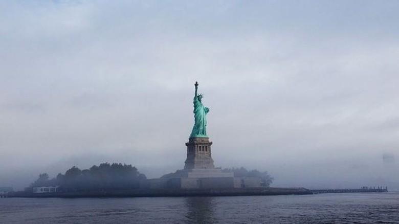 Batasi Jumlah Imigran, Pemerintahan Trump Ubah Puisi di Patung Liberty