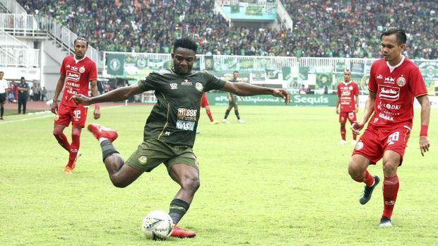 Osas Saha berhasil menjadi juara Liga 1 bersama Persija Jakarta.