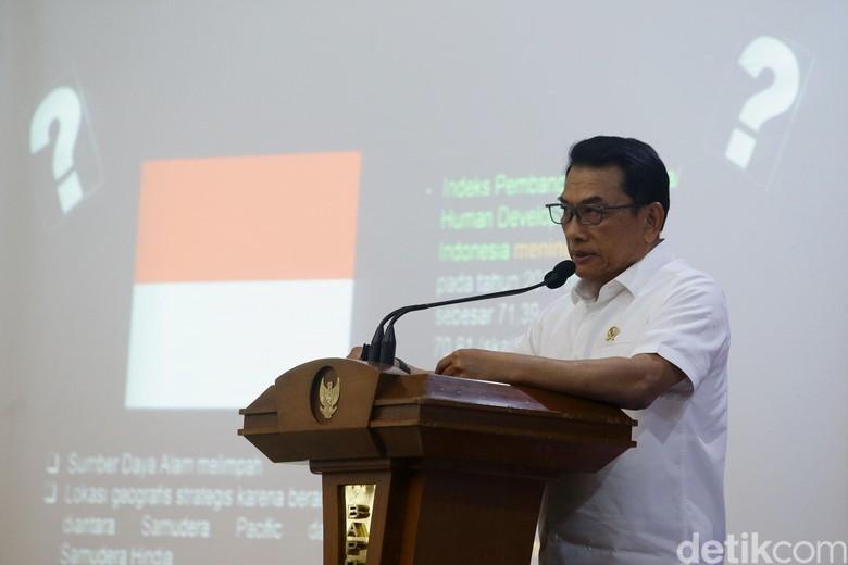 Tolak Bandingkan IPM RI-Singapura, Moeldoko: Persoalan Depok Lebih Rumit