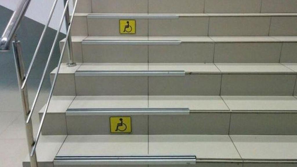 Duh, Deretan Fasilitas Untuk Disabilitas Ini Kok Begini?