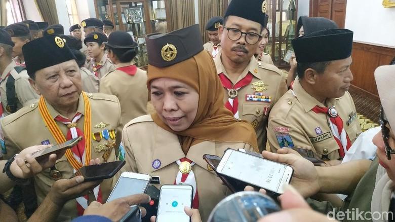 Khofifah Dukung Emil Gantikan Pakdhe Karwo Pimpin Demokrat Jatim