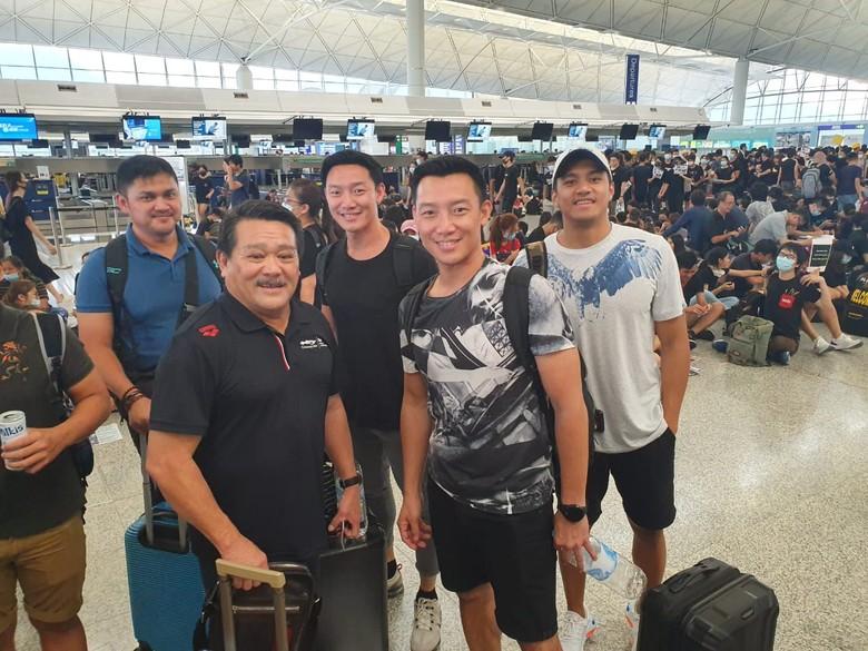 Sempat Terjebak di Hong Kong, Tim Renang DKI Sudah Tiba di Indonesia