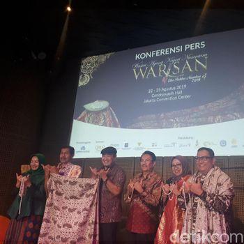 Ada Batik Seharga Rp 200 Juta di Pameran Warisan, Jakarta Convention Center