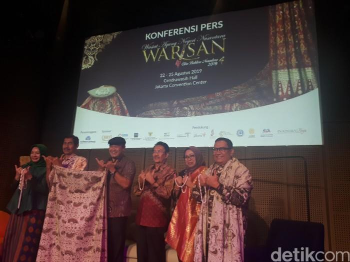 Batik seharga Rp 200 juta akan dipamerkan di pameran Warisan, JCC. Foto: Rahmi Anjani/Wolipop
