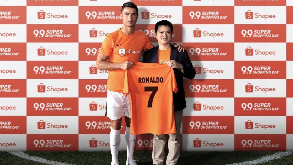Kisah di Balik Layar Aksi Goyang Shopee Cristiano Ronaldo