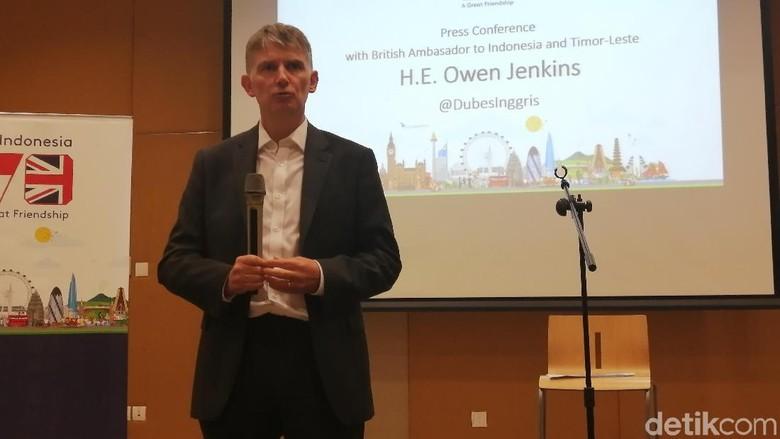 Jadi Dubes Inggris untuk RI, Owen Jenkins: Saya Terkesan, Sambutannya Hangat