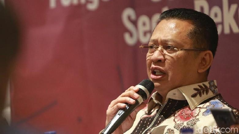 Ketua MPR Kecam Penusukan Wiranto