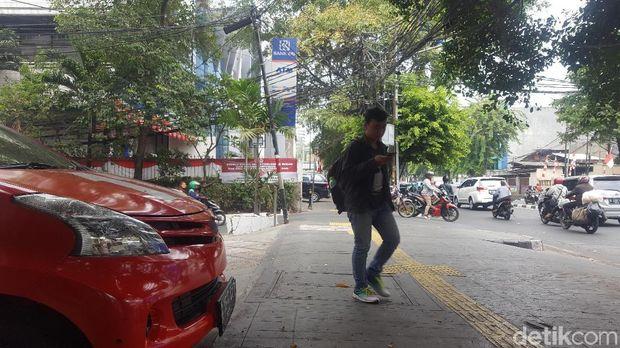 Tak Ada Lagi Mobil Serobot Trotoar, Begini Kondisi Parkiran di PSI