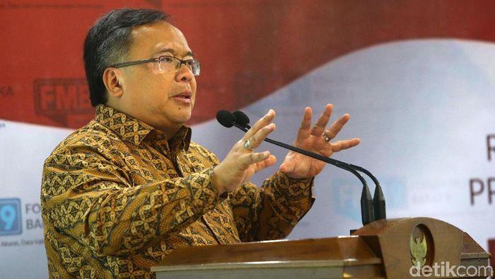 Menteri Perencanaan Pembangunan Nasional (PPN) Bambang Brodjonegoro/Foto: Grandyos Zafna