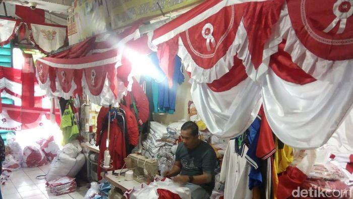 Foto: Pernak-pernik Kemerdekaan (Herdi Alif Al Hikam/detikFinance)