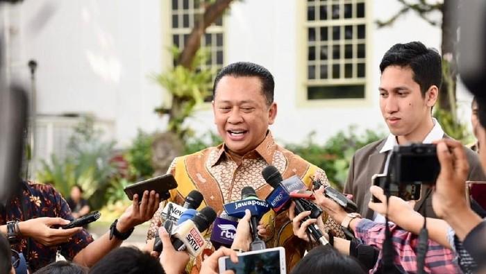 Ketua DPR RI Bambang Soesatyo (Bamsoet) di Istana Kepresidenan, Jakarta. (Foto: Istimewa)