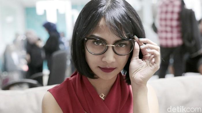 Desahan Vanessa Angel dalam vlog terbaru disebut-sebut sebagai ASMR (Foto: Asep Syaifullah/detikHOT)