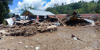 Permukiman terdampak banjir di Sigi.