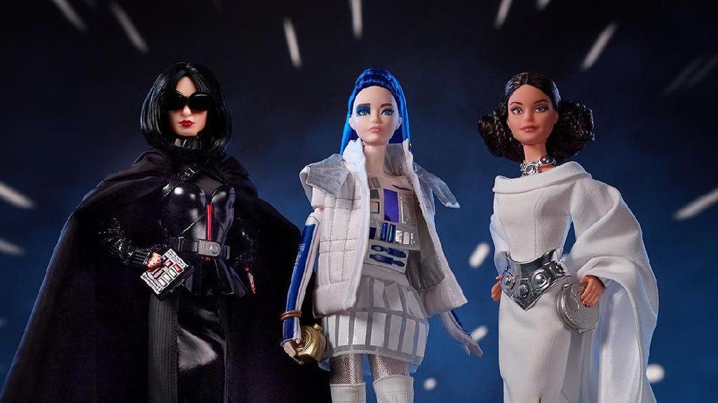 Barbie Star Wars Dirilis, Terinspirasi dari Putri Leia, Darth Vader dan R2D2