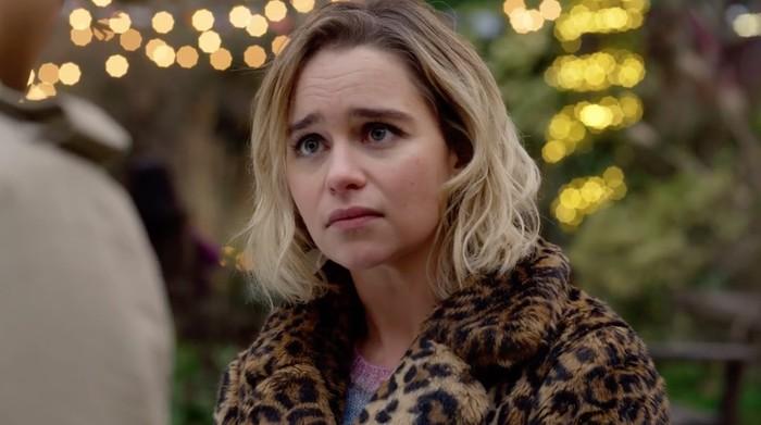 Emilia Clarke saat tampil di Last Christmas.