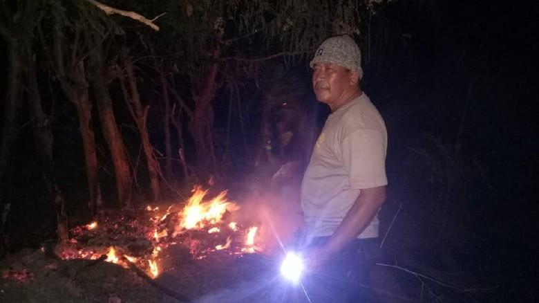 50 Hektare Lahan di Bima NTB Terbakar, Polisi Buru Pelaku