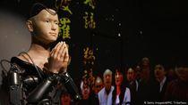 Di Jepang Ada Pendeta Buddha dari Robot Bisa Berkhotbah dan Berdoa