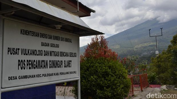 6 Hari Status Waspada, Seperti Ini Aktivitas Gunung Slamet Pagi Ini