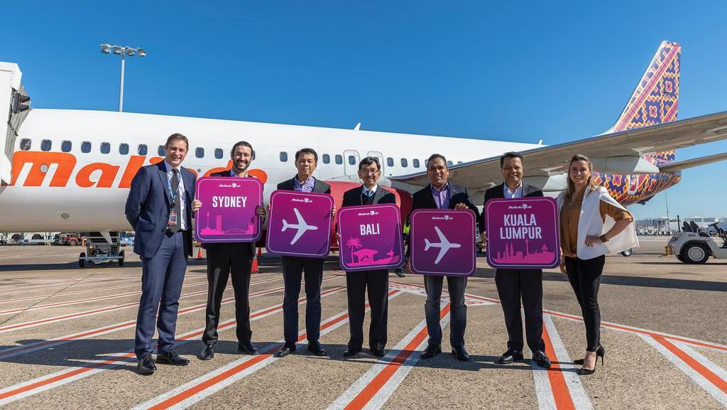 141 Penumpang Perdana Malindo Air Sydney-Denpasar Dapat Cupcake